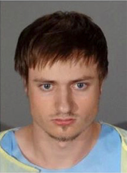 James Wesley Howell, 20, of Indiana was arrested in Santa Monica after neighbors noticed him knocking on residents' doors and windows.