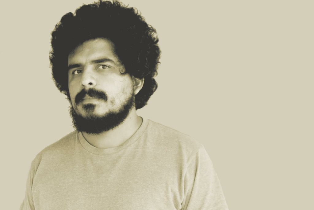 Portrait of musician Helado Negro.