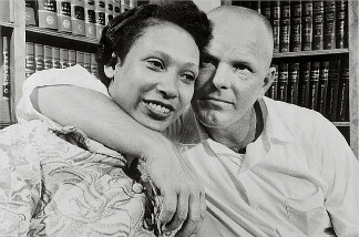 Mildred Loving and Richard Perry Loving, of the 1967 landmark case Loving v. Virginia which declared Virginia's anti-miscegenation law unconstitutional.
