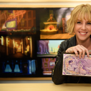 "Claire Keane, the visual development artist for the Disney TV channel cartoon ""Tangled, The Series"""