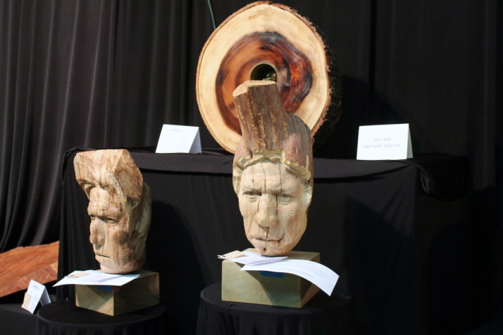The Los Angeles County Arboretum began its three-day art show,