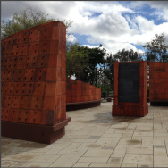 Saddleback College's veterans memorial