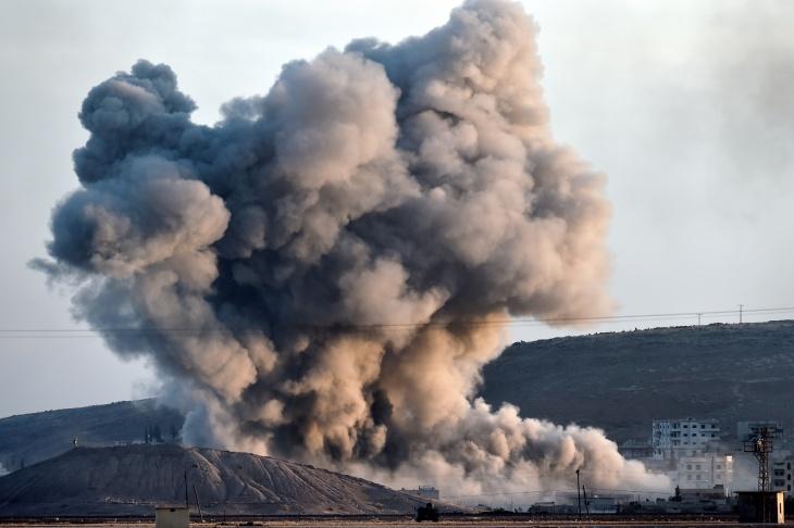TURKEY-SYRIA-CONFLICT-US-MILITARY-STRIKES-KURDS