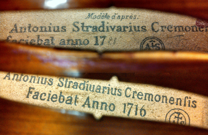 The Stradivarius label