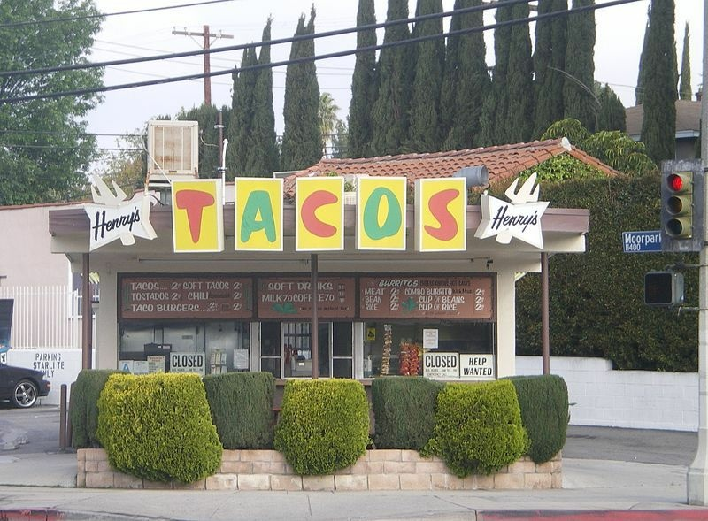Henry's Tacos in a photo from 2008.