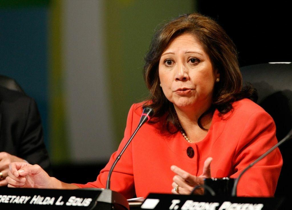 Supervisor-elect Hilda Solis is facing new questions about whether she improperly sought campaign contributions for President Obama when she was U.S. Secretary of Labor.