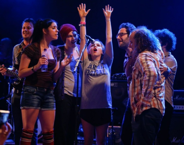 A general view as musicians and actors perform onstage at the first ever Jameson Petty Fest West at El Rey Theatre on Nov. 14, 2012 in Los Angeles.