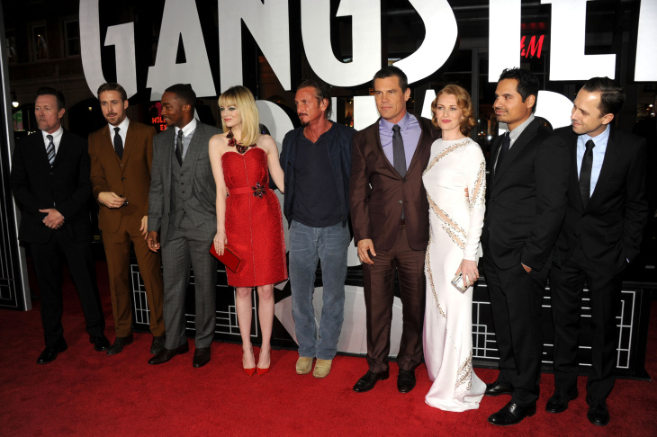 "Premiere Of Warner Bros. Pictures' ""Gangster Squad"" - Red Carpet"
