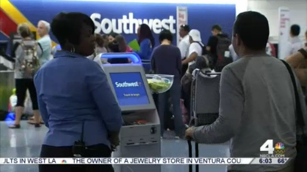 A Southwest Airlines system problem prompted cancellations and delays nationwide on Wednesday and Thursday. The company has urged travelers to check their flight status on Southwest.com and get to the airport early — there will likely be long lines.