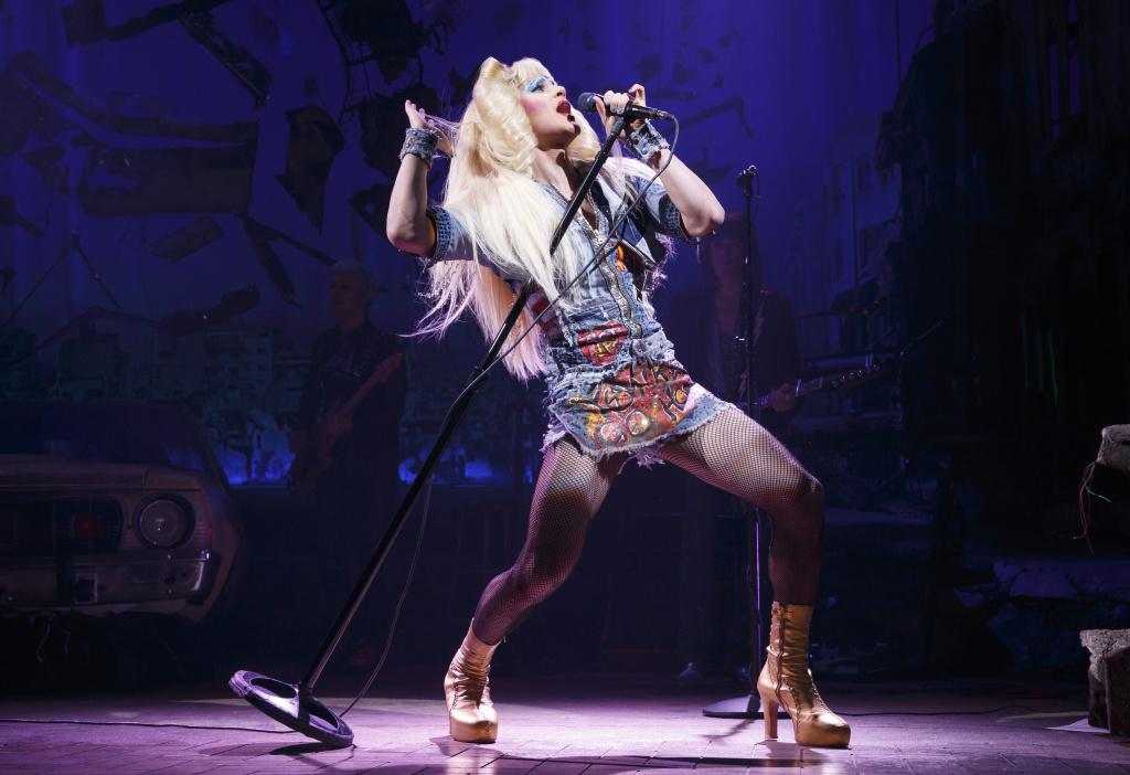 Darren Criss stars as Hedwig in