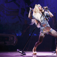 """Darren Criss stars as Hedwig in """"Hedwig & the Angry Inch,"""" at the Pantages Theatre."""