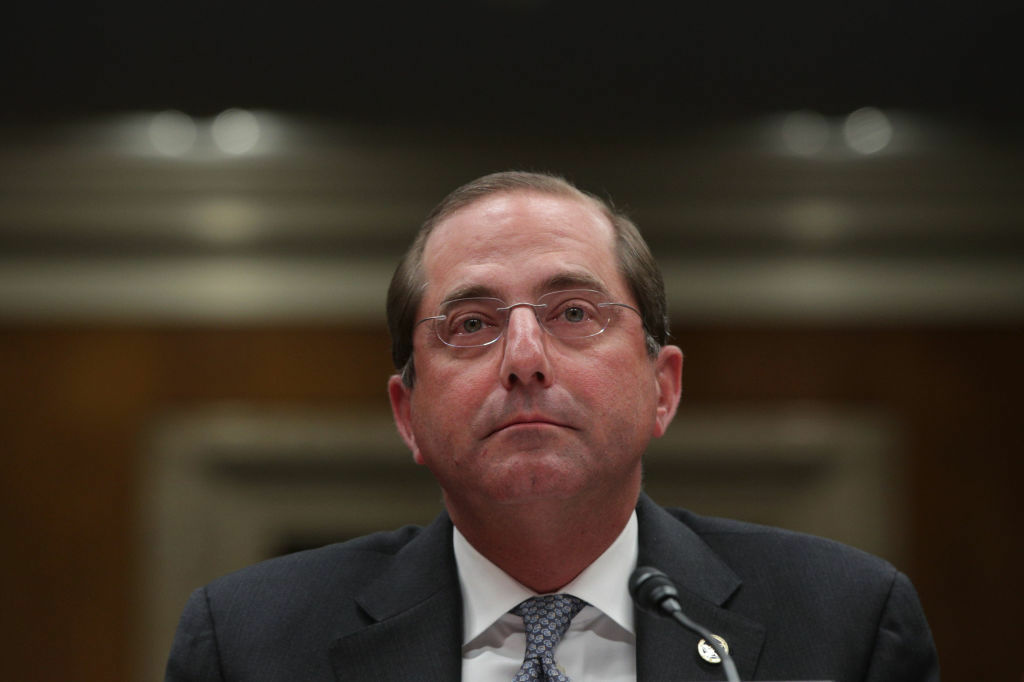U.S. Health and Human Services Secretary Alex Azar announced his agency will draft new rules intended to require health care companies to disclose their prices.