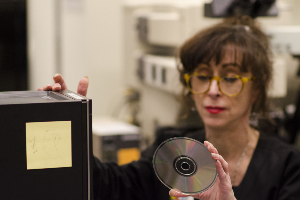 Many institutions have their archives stored on CDs — but the discs aren't as stable as once thought. There is no average lifespan for a CD, says preservationist Michele Youket,