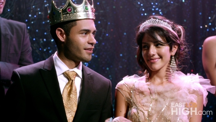 Jacob and Vanessa are crowned king and queen of the homecoming dance on the first episode of gritty high school drama