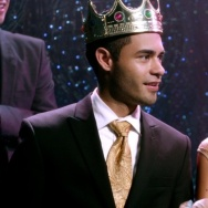 Jacob and Vanessa are crowned king and queen of the homecoming dance on the first episode of gritty high school drama East Los High.