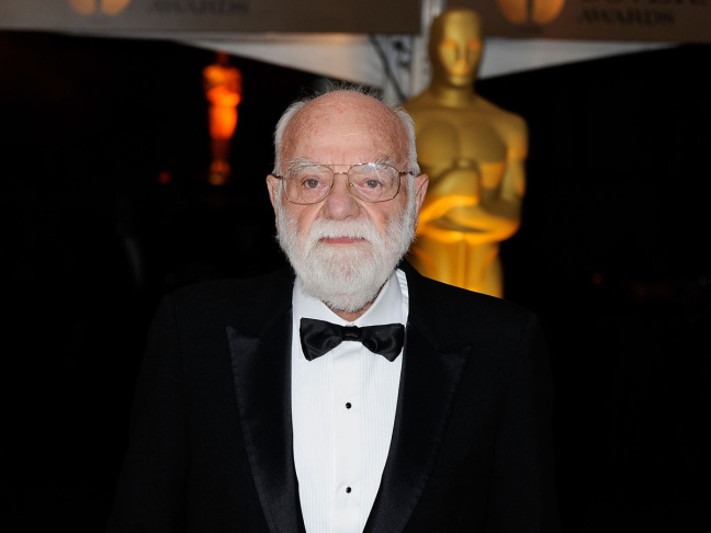 Producer Saul Zaentz arrives at the Academy of Motion Picture Arts and Sciences' Inaugural Governors Awards held at the Grand Ballroom at Hollywood & Highland Center on Nov. 14, 2009 in Los Angeles.