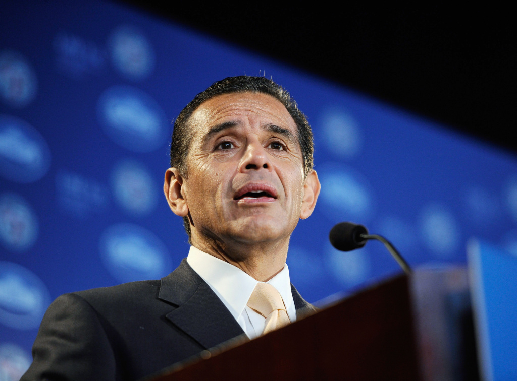 Mayor Antonio Villaraigosa is in Las Vegas today to speak at the National Council of La Raza's national conference.