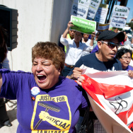 LA Immigration March - 1