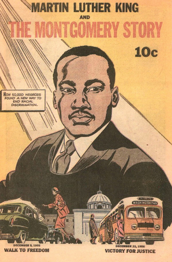 The 13-page comic published in 1957 was influential to a then 17-year-old John Lewis.