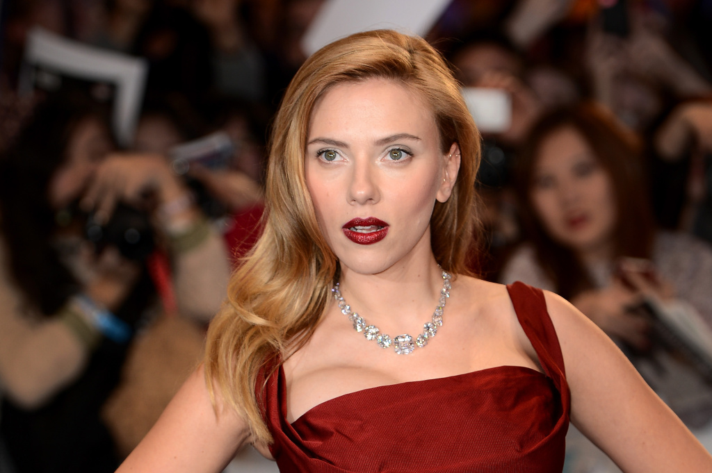 Actress Scarlett Johansson attends the UK Film Premiere of