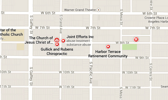 Police tried to stop a man at 8th Street and Grand Avenue in San Pedro Tuesday night before he fired shots at them and a pursuit ensued, LA Times reported.