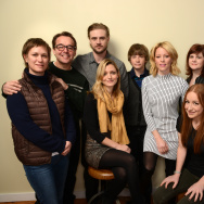 "Cast and crew of ""Little Accidents"" pose for a portrait during the 2014 Sundance Film Festival at the WireImage Portrait Studio at the Village At The Lift on January 21, 2014 in Park City, Utah."