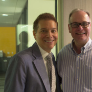 Larry Mantle and Michael Feinstein