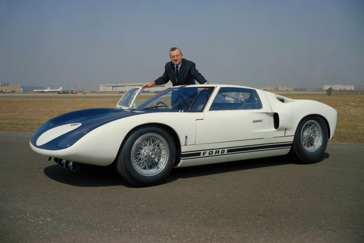 1964 Ford GT40 is number 14 on the Edmunds 100 most beautiful cars list.