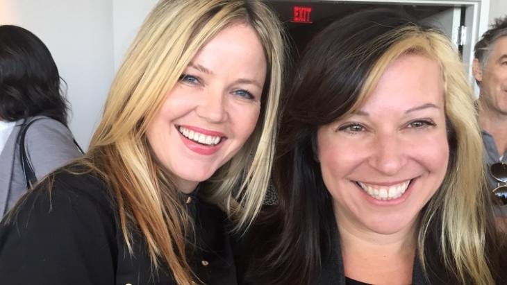 Kay Hanley (left) and Michelle Lewis are the founders of the advocacy group, Songwriters of North America.