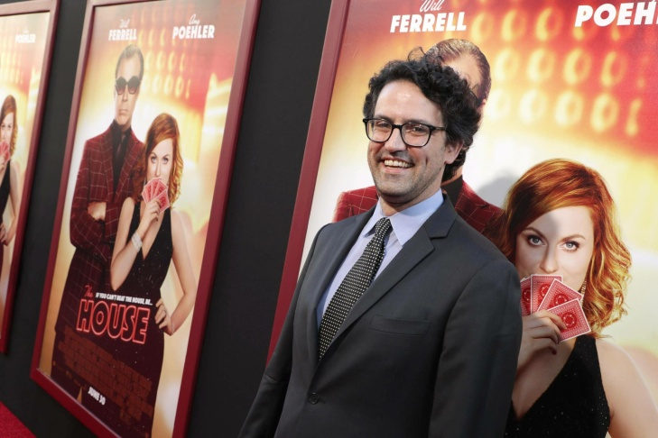 Director Andrew Jay Cohen at the world premiere of
