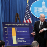Gov. Jerry Brown Signs California Budget Cut Legislation