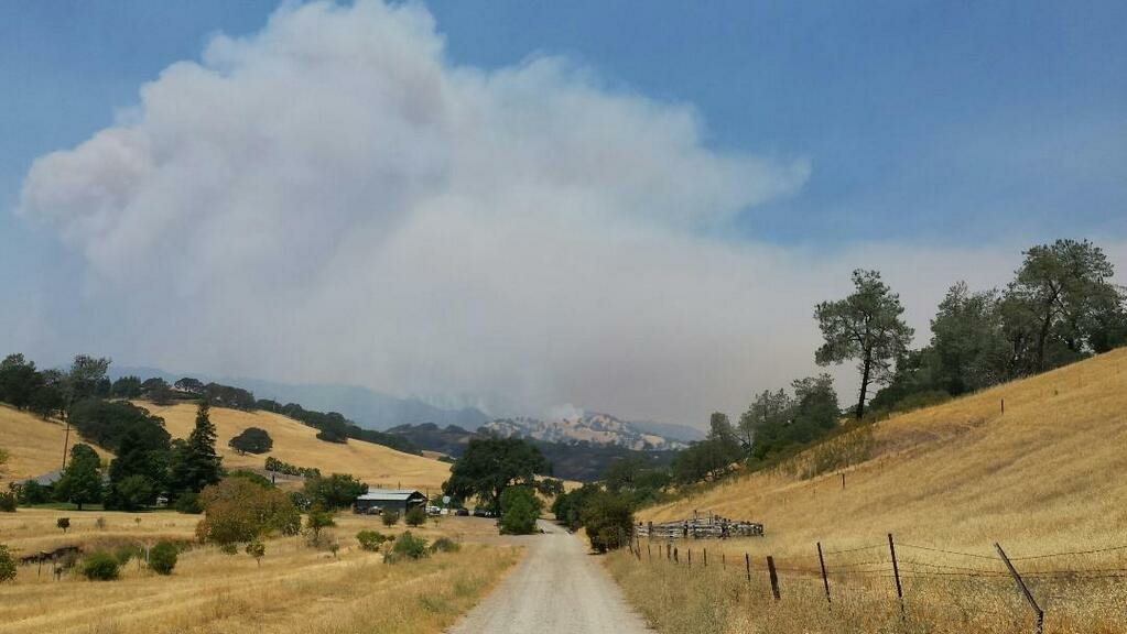The Monticello Fire has burned more than 6,000 acres.