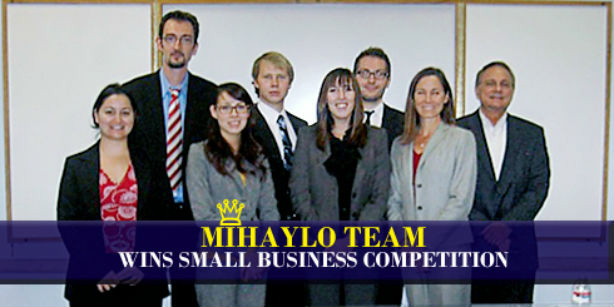 Entrepreneurship plus marketing plus small business equals.... Victory!