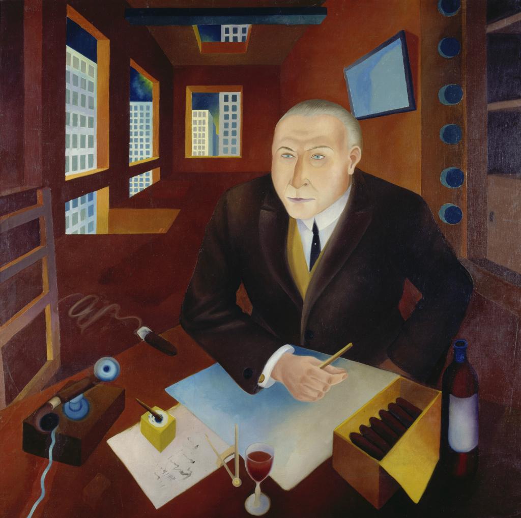 Heinrich Maria Davringhausen's The Profiteer