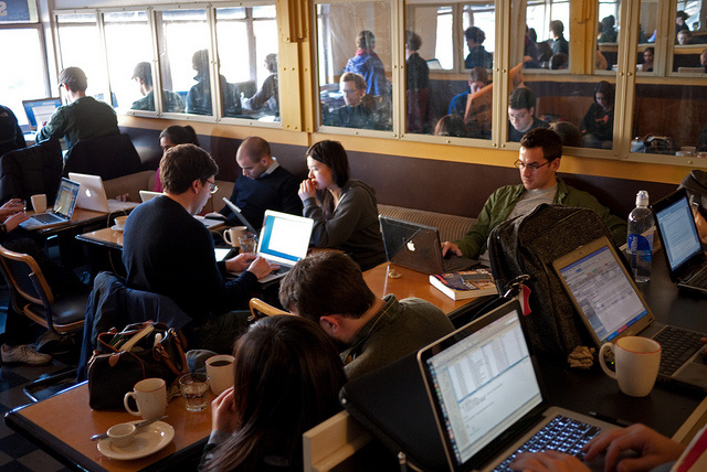 Should Coffee Shops have limits on free WiFi?