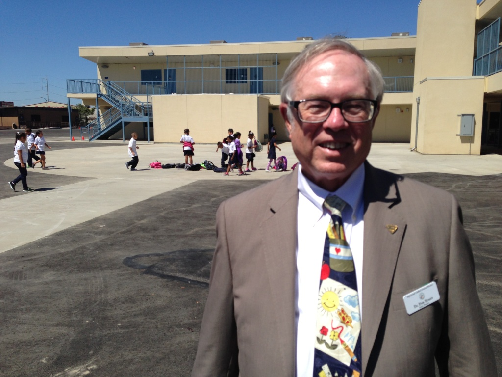 Don Brann is the state-appointed trustee running the Inglewood Unified School District.