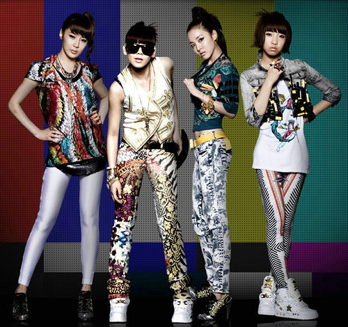 A Korean pop group 2NE1. Are views towards Asian Americans changing in the U.S.?