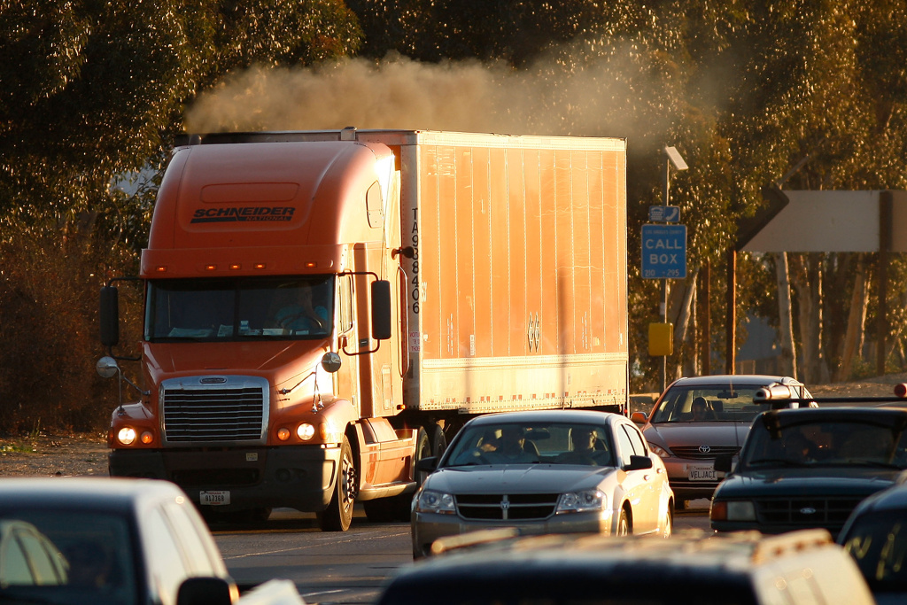Parents in the San Bernardino County community of Bloomington are worried that a recently approved logistics warehouse near their children's school will bring harmful fumes to the area.
