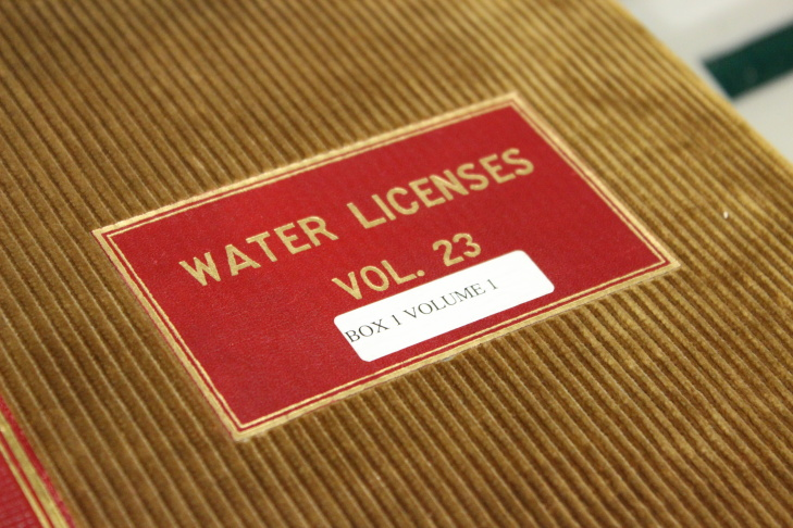 Water permits like this form the basis of California's water rights system that dates back to the Gold Rush and has kept no shortage of lawyers employed.