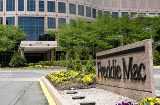 The exterior view of Freddie Mac is seen April 22, 2009 in McLean, Virginia.
