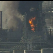 Chevron refinery fire in Richmond, CA