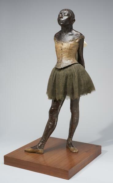 Edgar Degas' Little Dancer, Aged Fourteen. Modeled 1878–81; cast after 1918.
