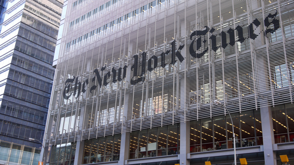 The New York Times announced plans Wednesday to cut about 100 newsroom positions.