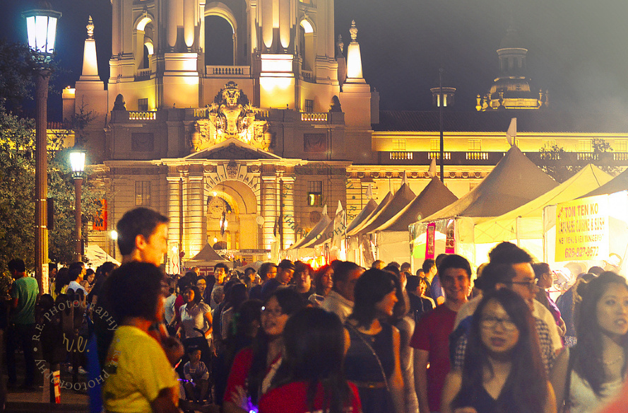 The 626 Night Market started out in Pasadena in spots like the City Hall plaza, but is now expanding to Orange County and downtown Los Angeles.