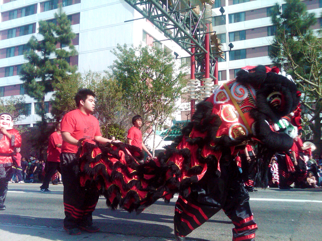 Photo: Annual Golden Dragon Parade