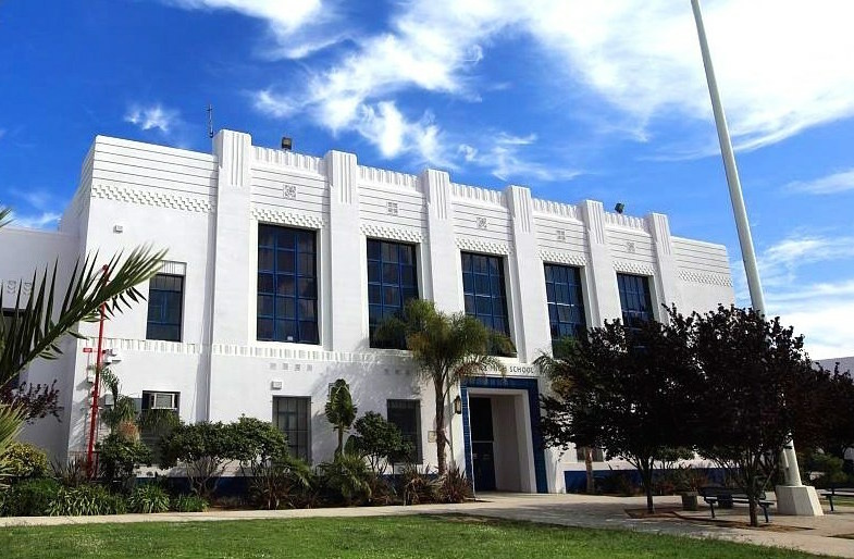 Venice High School in Los Angeles.