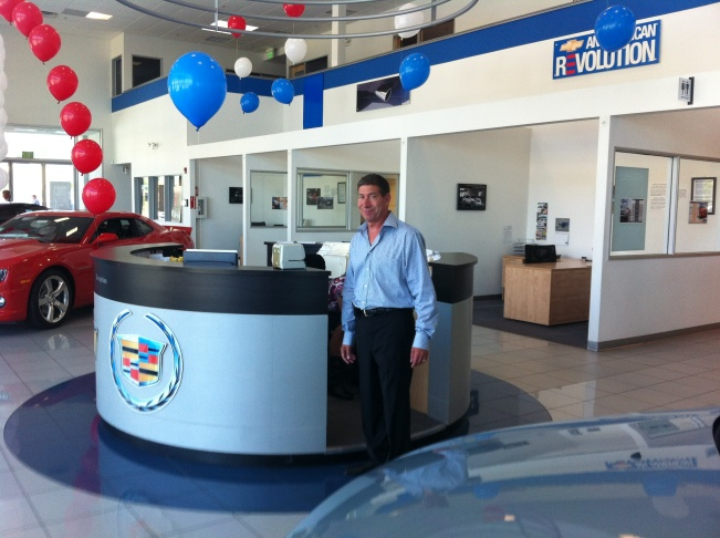 Vallejo Chevrolet Cadillac dealership owner Kenny Ross