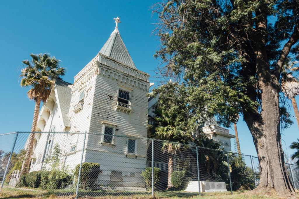 The Wadsworth Chapel on the grounds of the West Los Angeles VA was built in 1900.