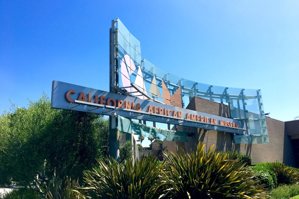 Opened in 1981 at LA's Exposition Park, the California African American Museum one of the smallest museums in a place that's becoming a renewed epicenter for Los Angeles culture.