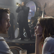 "Ryan Gosling and Emma Stone star in ""La La Land."""